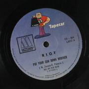 Riot Put Your Gun Down Brother / It's Been Oh So Long Motown 7 Single