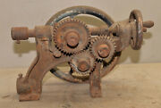 Vintage Acme Post Drill Blacksmith Forge Tool Collectible Restoration Project