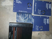 2002 Ford Ranger Truck Service Shop Repair Manual Set W Pced + Specs And Ewd Book