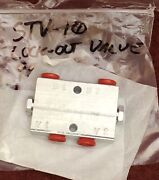 Hynautic Stv-10 Throttle Slave Lock-out Valve P/n 950119 4 Stations Made In Usa