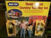 Breyer Horse Lover's Country Vet Play Set New In The Box With Extra Dolls