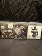 Call Of Duty Black Ops Ops 2modern Warfare 3 Sony Playstation 3 Ps3