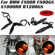 Motorcycle Front+rear Amber Turn Signal Led Light Indicator Lamp For Bmw Premium