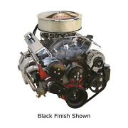 Front Runner Drive Serpentine Kit Sb Chevy Black With Chrome Ac Alt W/ Ps 174024