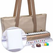 American Mahjong Easy Reader W/ Beige Soft Case All-in-one Racks Us-ax402-a