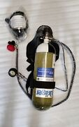 Drager 91 Plus Complete Scba Self Contained Breathing Apparatus With Carbon Cy
