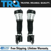 Trq Complete Air Shock Strut Assembly Front Pair 2pc For S430 S500 W220 4matic