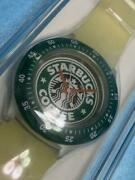 New 2001 Swatch X Starbucks Coffee 5th Anniversary Watch Limited Edition Japan