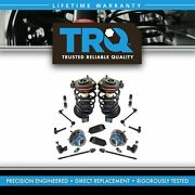 Trq Strut Spring Assemblies Ball Joints Sway Links Tie Rods Rack Boots 16 Pc Set