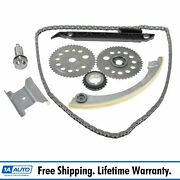 Complete Timing Chain Kit Set For Chevy Pontiac Olds Saturn 2.0l 2.2l