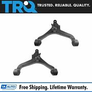 Trq Lower Front Control Arms W/ Bushings Lh And Rh Pair For 02-07 Jeep Liberty