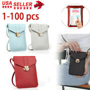 Cross-body Touch Screen Cell Phone Purse Shoulder Bags Leather Pouch Case Us Lot