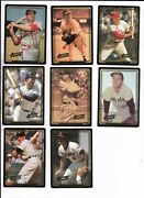 1992 Action Packed Asg Pick-a-card Slaughter Ashburn Piersall Rosen Crosetti ++