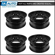 Dorman Wheel 17 Inch Steel Replacement Set Of 4 For Ford Fusion Mercury Milan