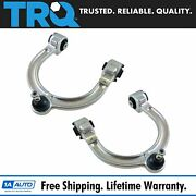 Trq Front Upper Control Arm W/ Ball Joint Lh Rh Pair For Mercedes E Class 4matic