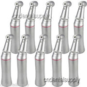 10 Dental Increase 15 Contra Angle Inner Water Spray Handpiece Push Button Type