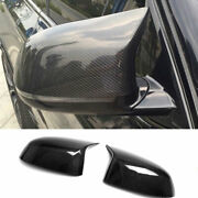 Fit Rearview Mirrors Cover Cap Carbon Fiber For Bmw X3 G01 X4 G02 2018-2020