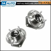 Timken Rear Wheel Hub And Bearing W/ Abs Left And Right Set Of 2 Pair For Chevy