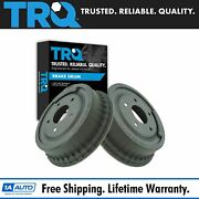 Trq Rear Brake Drums Pair Set For Chevy Pontiac Gmc Buick Olds Pickup Truck