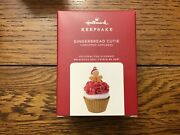 Hallmark 2020 Gingerbread Cutie Christmas Cupcakes Ornament 11 Sold Out