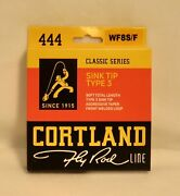 Cortland 444 Classic Series Fly Line - 10and039 Fast Sink-tip - Type 3 - Wf8f/s