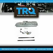 Trq Fuel Tank With Straps And Electric Fuel Pump/sending Unit Kit 34 Gallon For Gm