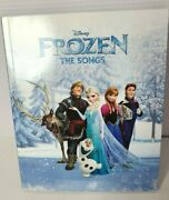 Disney Frozen The Songs The Original Frozen Soundtrack Booklet And Cd Included