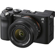 Sony Alpha A7c Mirrorless Digital Camera With 28-60mm Lens Black Ilce7cl/b