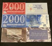 United States Government Issued Mint Sets With One Of Each Year 1996-2000