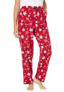 Dreams And Co. Women's Plus Size Knit Sleep Pant Pajama Bottoms
