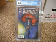 Starman 0 Cgc 9.8 Dc 1994 1st Appearance Of Jack Knight New Star Man White Pg Nm