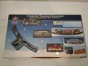 2003 Lemax Carole Towne Express Toy Train Set Christmas Collectible Decoration