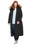 Woman Within Womenand039s Plus Size The Arctic Parkaandtrade In Extra Long Length Coat