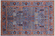 5and039 2 X 7and039 9 Hand Knotted Ziegler Wool Rug - Q7785