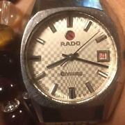 Rado Wristwatch Super Rare Antique Conway Menand039s Automatic Watch Used Jp No.89