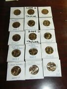 75 Us Mint Presidential Golden Dollars Assorted Mix. You Get What U C Pres-4