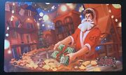 Signed Flesh And Blood Alpha Investments - Santa Rudy Playmat - Limited Edition
