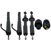 Front And Rear Air Shock Struts And Springs Kit For Lexus Gx470 2003-2009 4.7l Dohc