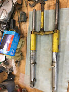 1972 Honda Ct70h Trail Forks Ct 70 Ct70 Oem Forks Candy Yellow Special F4