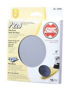 Shopsmith 5 In. Aluminum Oxide Adhesive Sanding Disc 220 Grit Very Fine 15 Pk