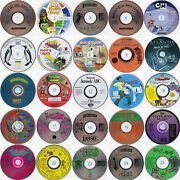 Lot Of 24 Kids Cds Choose From 50 Titles Less Than 1.50 Ea Free Cd/dvd Wallet