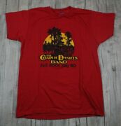 Vintage The Charlie Daniels Band Full Moon 1980 Tour Red Shirt Size Large