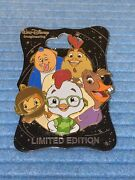 Chicken Little Pin. Wdi Character Cluster Chicken Little Limited Edition 250 Pin