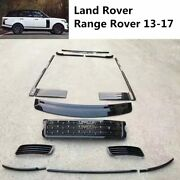 Front Grille For Land Rover Range Rover 2013-2017 Mesh Side Vent Grill Door Sill