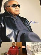 Autographed Frank Lucas 16x20 Photo American Gangster Asi Certified Signed
