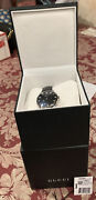 Ya1264086 Womenand039s G-timeless Watch Nib Tags Crystal Charms Hour Markers