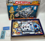 Star Wars Operation Game - 2014 - R2d2 And C3po 100 Complete Some Still Sealed