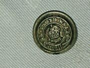 A Vintage Small Nsw Police Cuff Button By Wilkinson Sword Buttons Ltd Birmingham