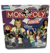 Monopoly Junior Disney Channel Edition New Sealed Box Parker Brothers Free Ship