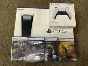 Play Station 5 - Disc Version - Bundle Pack